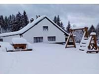 Chata v zimě - Nové Domky