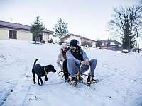 Zima - Nová Bystřice