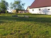 zahrada s ohništěm - Horní Žďár u Jindřichova Hradce