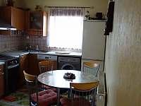 kuchyň - chalupa ubytování Dolní Žďár - Horní Lhota