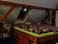 manželská postel v podkroví - Dolní Žďár - Horní Lhota