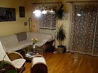 obývací pokoj - pronájem chalupy Dolní Žďár - Horní Lhota