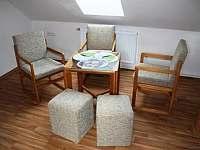 obývací část apartmánu