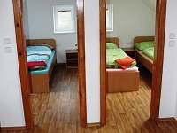 vstup do ložnic  v apartmánech