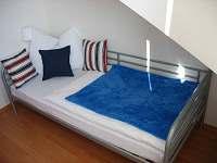 Modrá ložnice - apartmán ubytování Frymburk