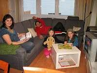 Rodinná pohoda - pronájem apartmánu Frymburk