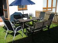 Venkovní sezení a zahradní nábytek - Frymburk