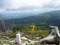 Výšlap na Plechý - krásný výhled - příjemný výlet