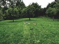 Pohled na zahradu - Nadějkov