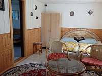 Obývací pokoj chata č. 50 - ubytování Dobronice u Bechyně