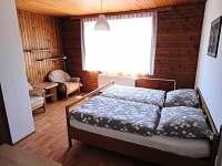 ložnice 2.np - rekreační dům k pronajmutí Křemže