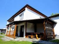 terasa - rekreační dům k pronájmu Křemže