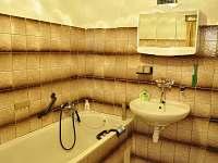 Koupelna - chata k pronajmutí Laciná