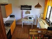 Kuchyně - chata ubytování Laciná