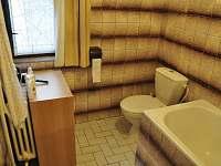 WC - pronájem chaty Laciná