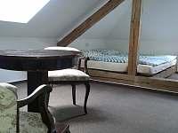 Ložnice v podkroví dvoulůžko - Planá nad Lužnicí