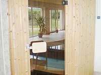 Sauna pro čtyři osoby - vila k pronajmutí Planá nad Lužnicí