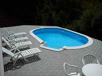 Chalupa s bazénem - chalupa ubytování Bechyně - 5