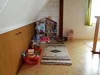 Dětský koutek - chata k pronájmu Koloděje nad Lužnicí