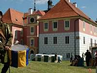 Mariánská pouť na zámku - pronájem chaty Koloděje nad Lužnicí