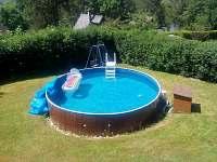 Nový bazén - chata k pronajmutí Koloděje nad Lužnicí