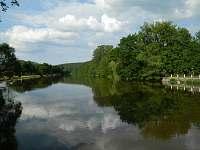 Řeka Lužnice - pronájem chaty Koloděje nad Lužnicí