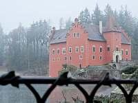 Červená Lhota-v prosinci - rekreační dům k pronajmutí Kardašova Řečice