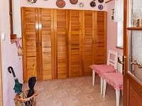 veranda-vstup do domu - rekreační dům k pronájmu Kardašova Řečice