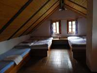 Podkroví - ložnice