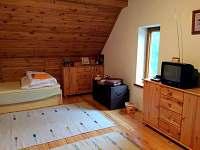 ložnice v nejvyšším patře