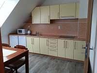 Apartmán žlutý - kuchyňská linka - rekreační dům k pronajmutí Nová Včelnice