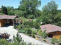 boční pohled na chaty 7162 a 7163 - Albrechtice nad Vltavou - Újezd