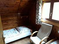ložnice 2 os. - pronájem chaty Frymburk - Lojzovy Paseky