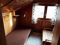 ložnice 3 os. - chata k pronájmu Frymburk - Lojzovy Paseky