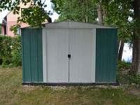 Zahradní domek pro úschovu jízdních kol