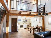 AP 1 celkový pohled - apartmán ubytování Mnišek