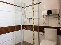AP1 koupelna - apartmán k pronájmu Mnišek