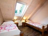 AP2 ložnice 1 - apartmán k pronajmutí Mnišek
