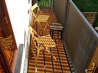 Balkon - rekreační dům k pronájmu Písečné nad Dyjí