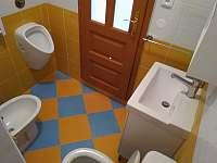 dolní toaleta - Písečné nad Dyjí