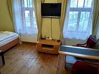 ložnice 1 - rekreační dům k pronajmutí Písečné nad Dyjí