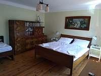 ložnice 2 - rekreační dům k pronájmu Písečné nad Dyjí