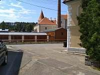 výhled na zámek - rekreační dům k pronájmu Písečné nad Dyjí