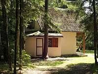 Chata Staňkov - pohled od příjezdové cesty