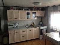 kuchyně - apartmán ubytování Kaproun