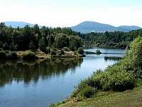 Humenická přehrada - chata ubytování Humenice
