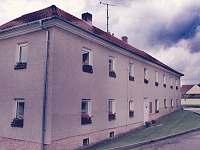 Boční pohled - apartmán ubytování Bujanov