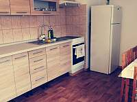 Kuchyň - apartmán k pronajmutí Bujanov