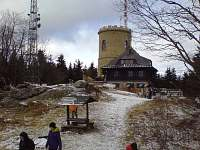 Kleť - vrchol Blanského lesa s rozhlednou a restaurací