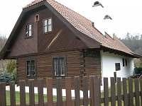 Chalupa k pronajmutí - okolí Slavňovic